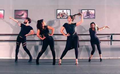 Aulas de Stiletto Dance